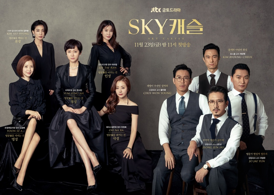 Korean Drama Premiere Review: Sky Castle – Chasing Carefree